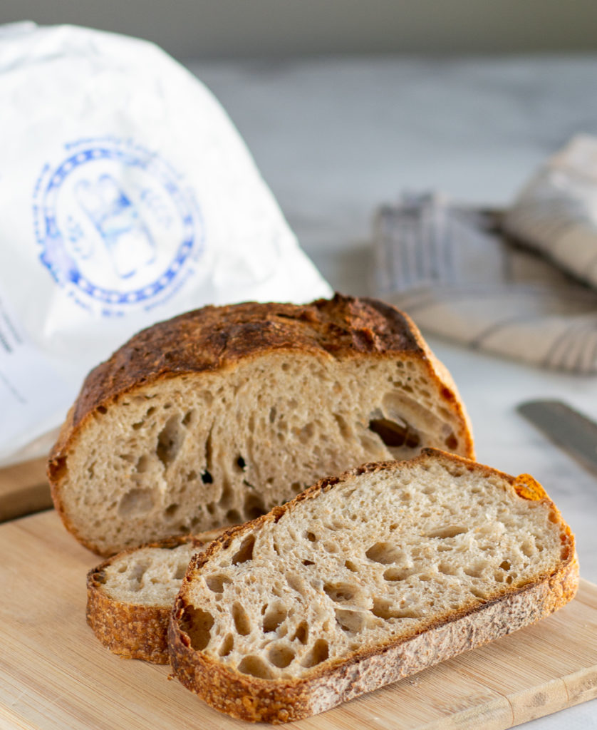 photo of brake bread bread and bag