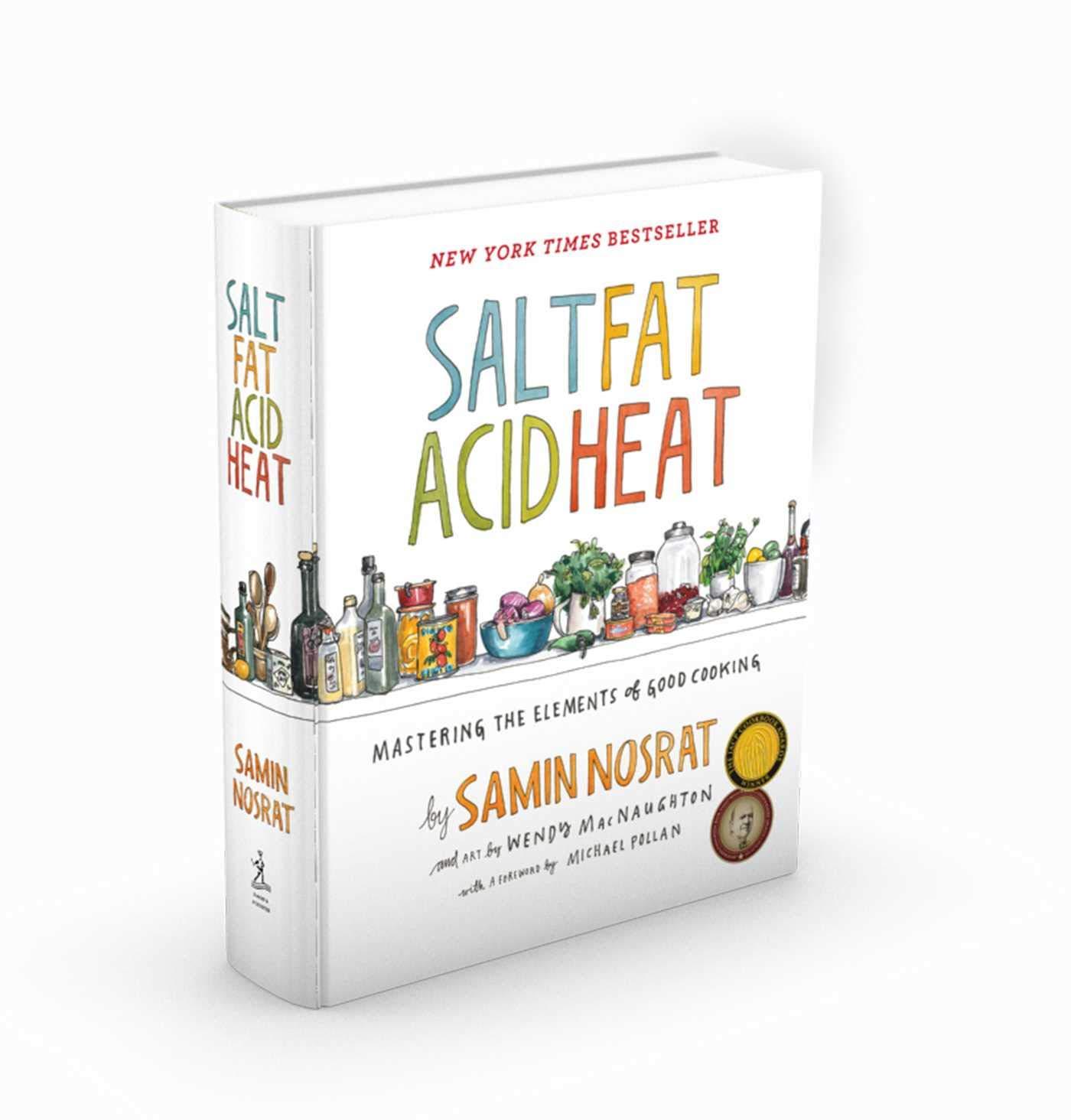 Salt Fat Acid Heat book by Samin Nosrat