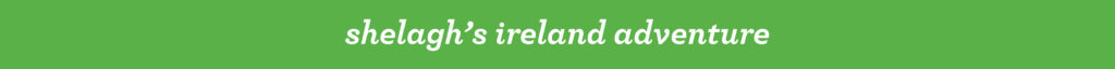 Shelagh's Ireland adventure banner