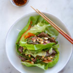 Leftover Steak Lettuce Wraps