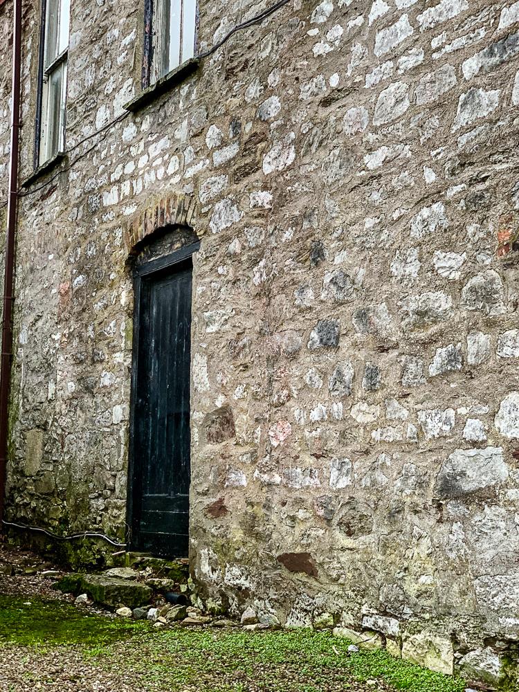 cool old door photo in cork