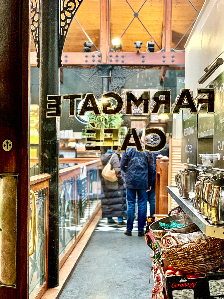door of farmgate restaurant in cork