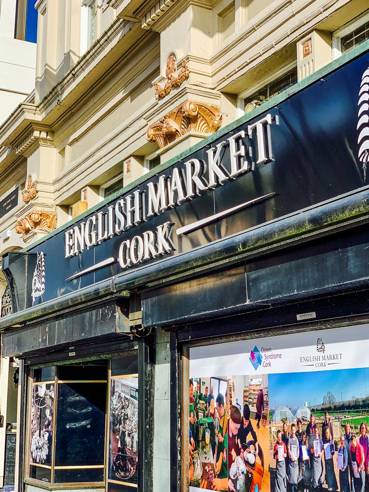 Signage photo for the English Market