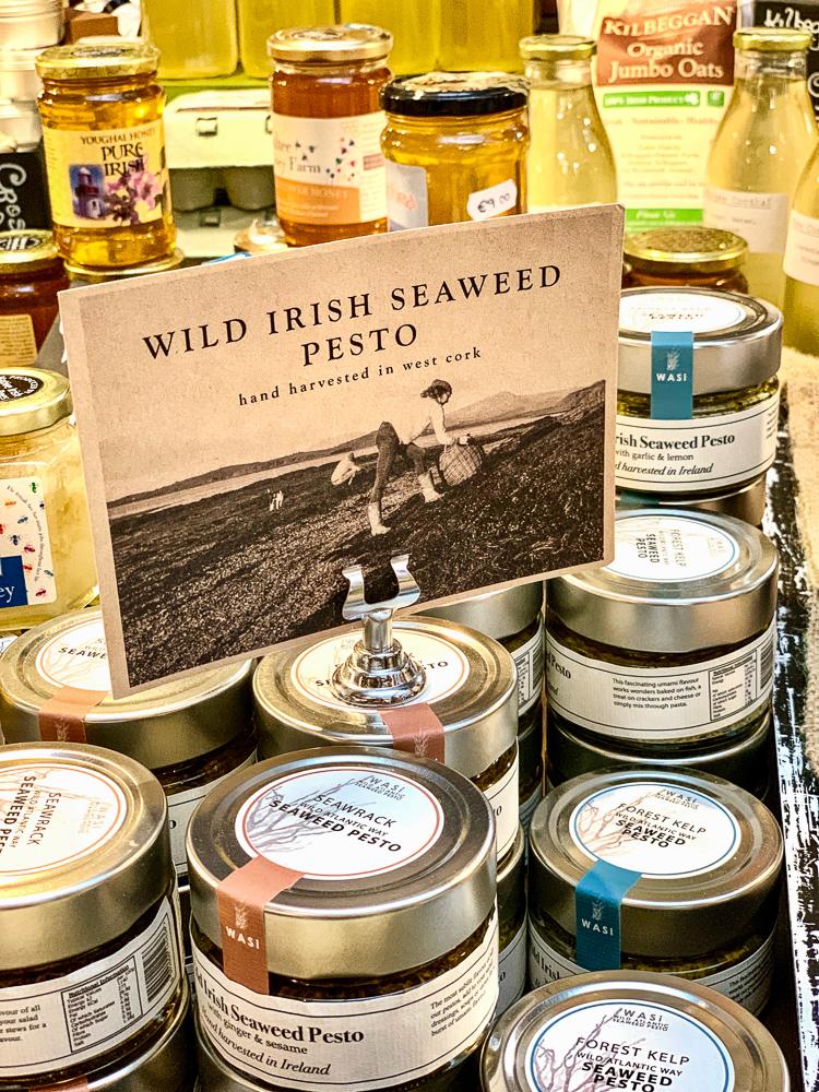 photo of wild irish seaweed pesto