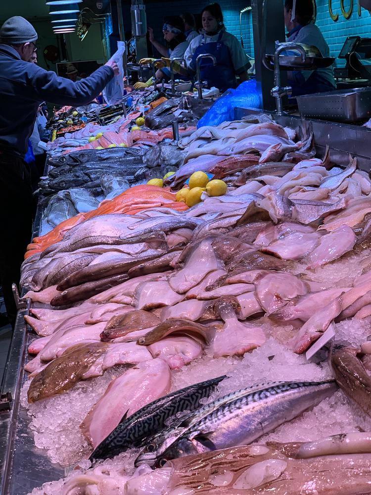 fish market at English market