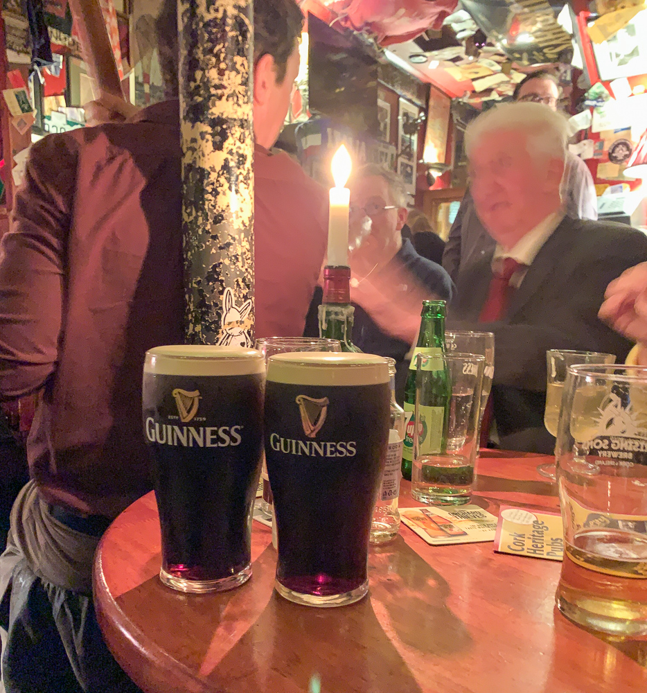 two Guinness and an old irishman