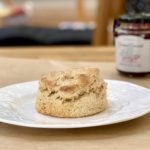 irish scone made with oak forest mills spelt flour