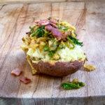photo of colcannon twice baked potato