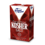 photo of diamond kosher salt box
