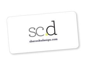 she cooks.design e-gift card image