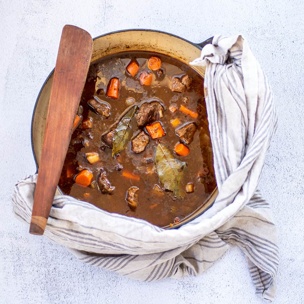 Beef and Guinness Stew-square
